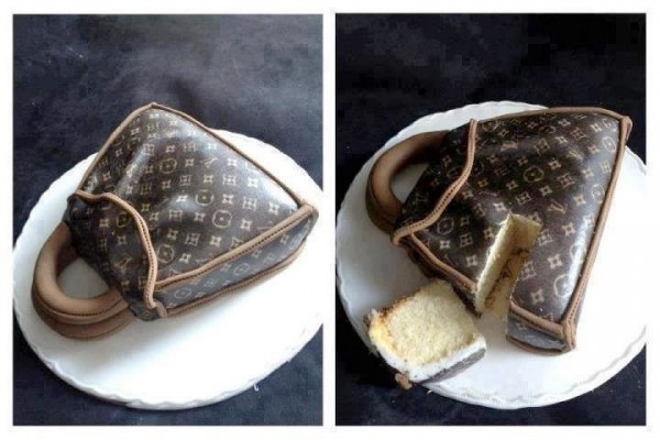 Tartas originales: Bolso de Louis Vuitton