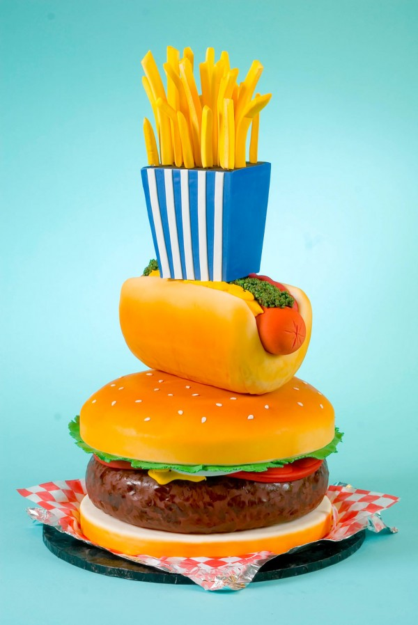 Tartas originales: Fast food