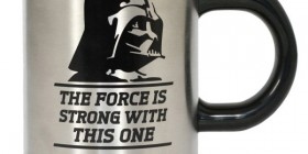 Taza autoremovible Darth Vader. Star Wars