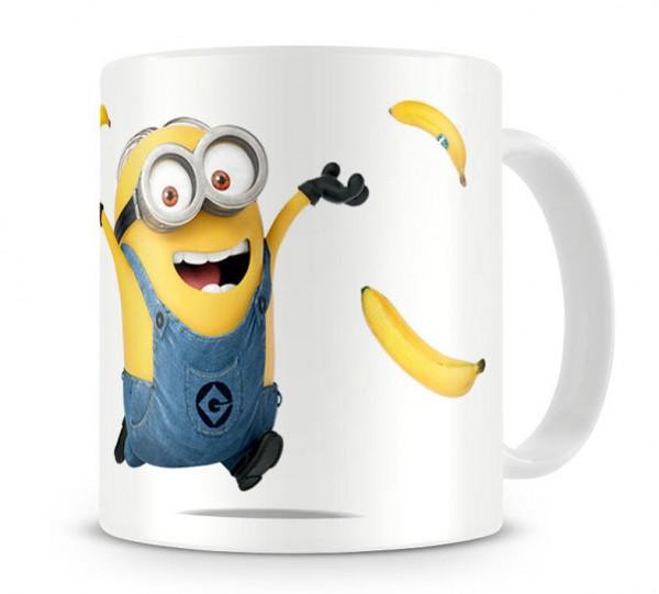 Taza de los Minion, bananas