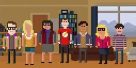 The Big Bang Theory versión píxel