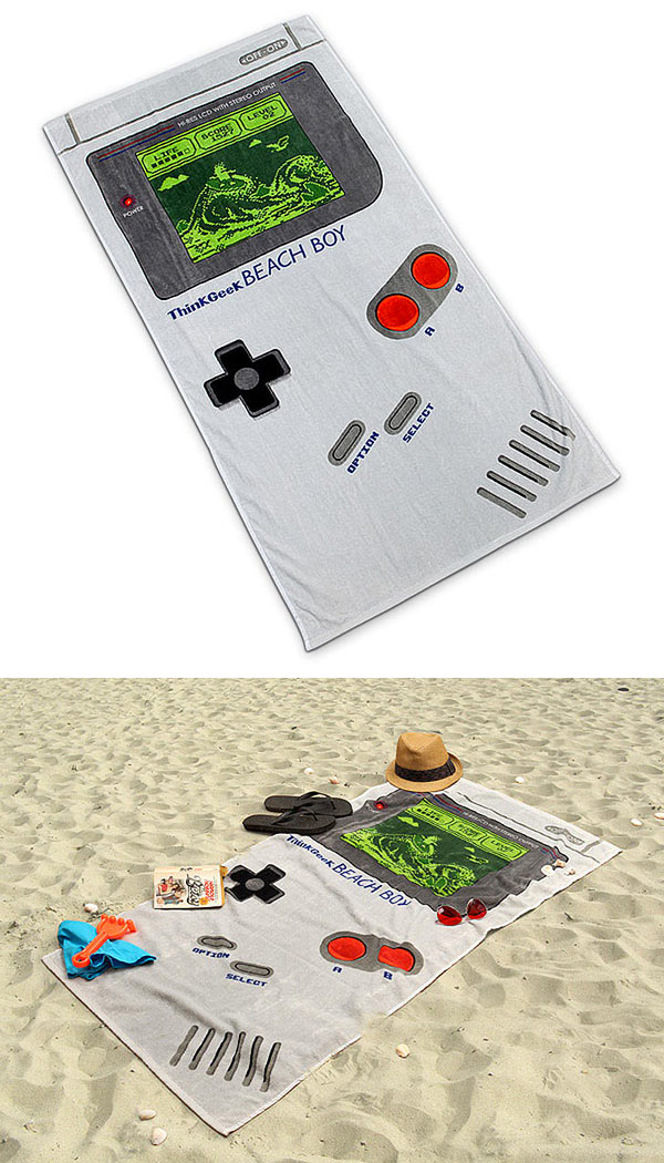 Toalla de playa Game Boy