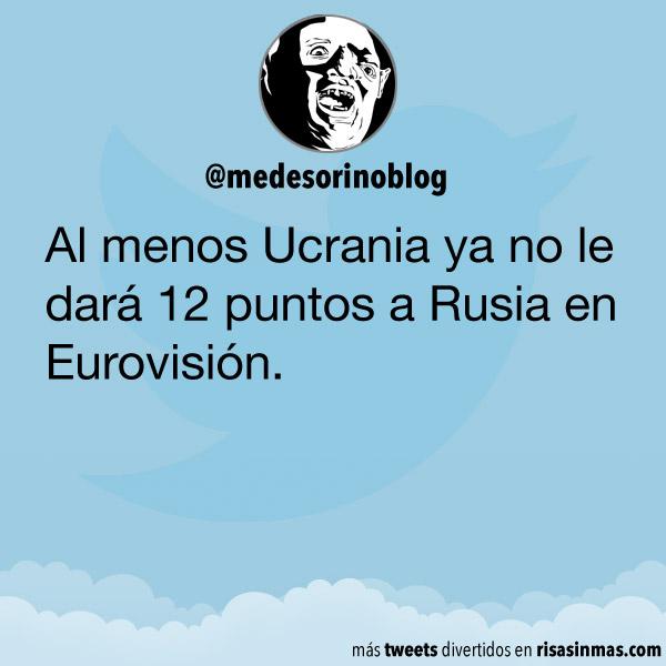 Ucrania y Rusia en Eurovisión