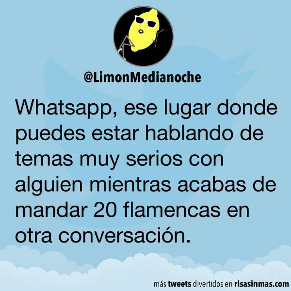 Un lugar llamado WhatsApp