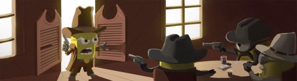 Una de vaqueros...Minions