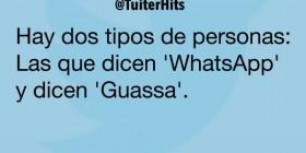 WhatsApp y Guassa