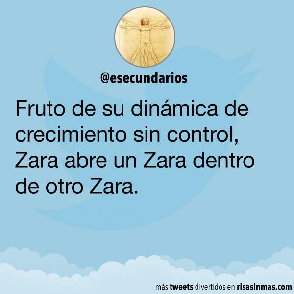 Zara abre un Zara dentro de otro Zara