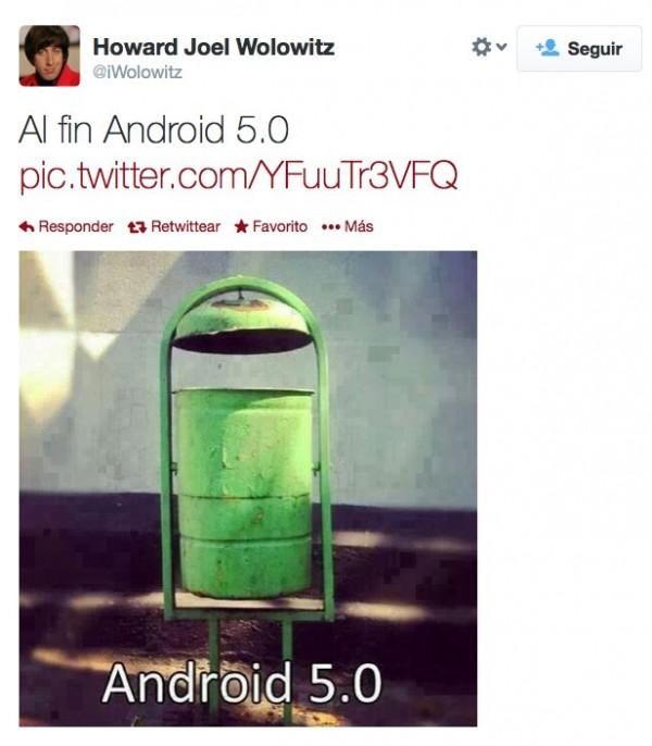 Al fin Android 5.0