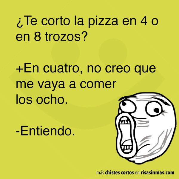 Chistes cortos: pizza