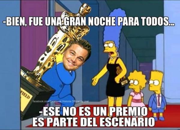 DiCaprio, eso no es un premio