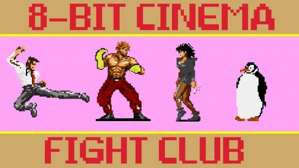 El club de la lucha en 8 bits