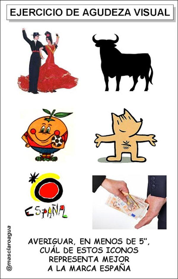 Marca España: ejercicio de agudeza visual