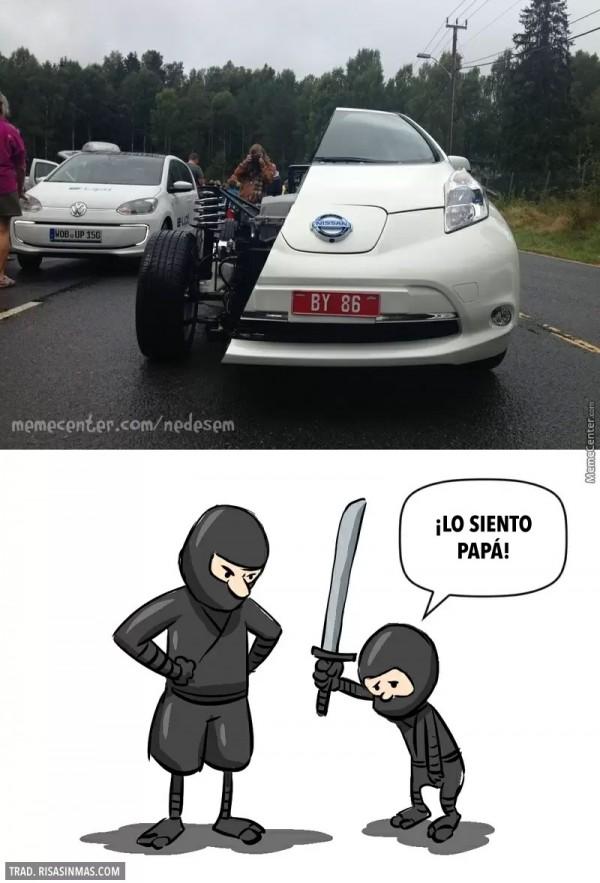 Tener un hijo ninja