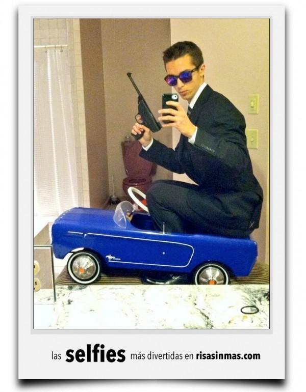 La selfie de James Bond