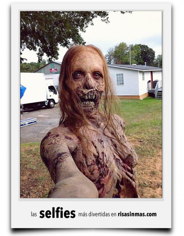 La selfie de The Walking Dead