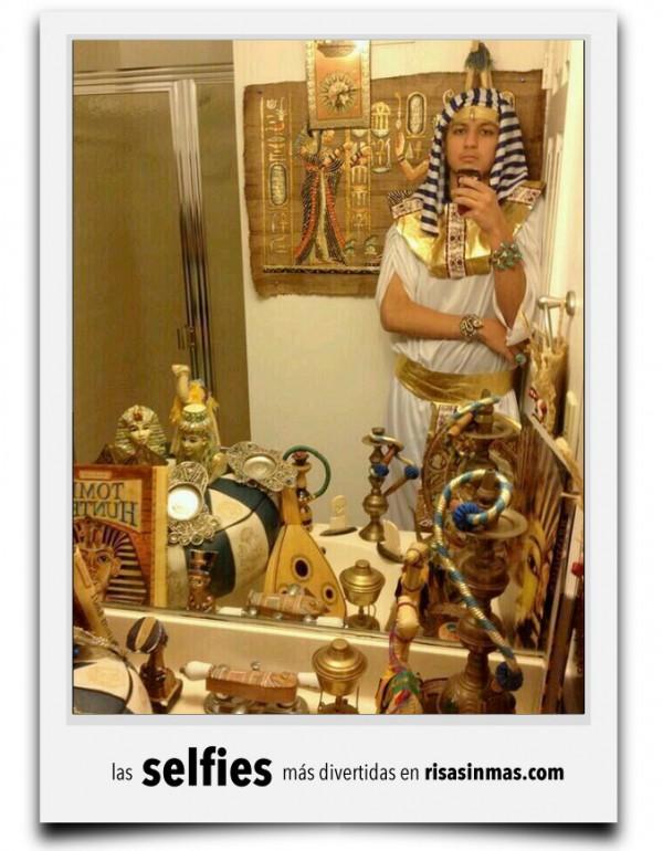 El selfie de Tutankamón