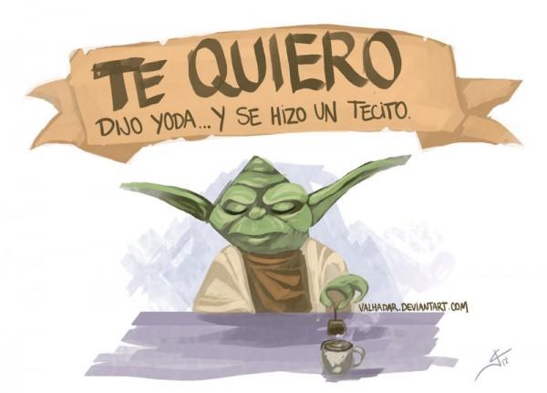 Te quiero, dijo Yoda