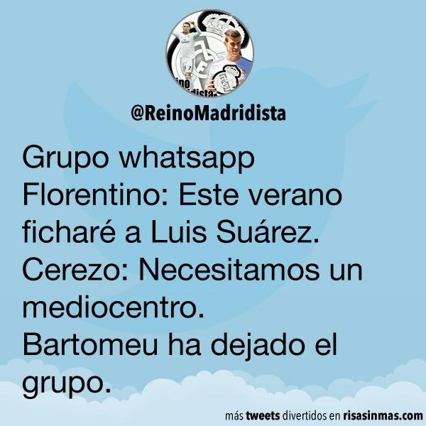 Abandonando grupo whatsapp