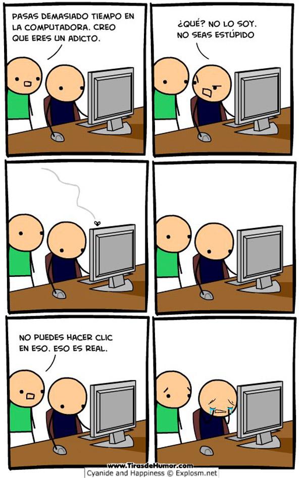Adicto al ordenador