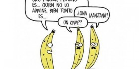 Adivinanza entre plátanos
