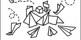 Aeropuerto de aviones de papel