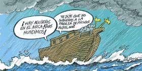 ¡Agujeros en el arca de Noé!