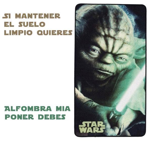 Alfombra de Yoda