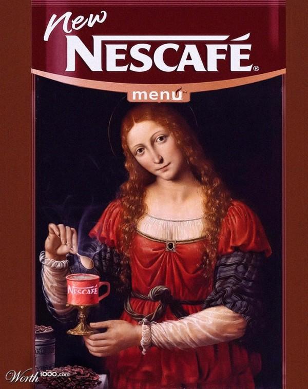 Anuncios artísticos: Nescafe