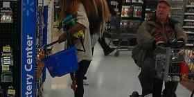 Blanka en el supermercado