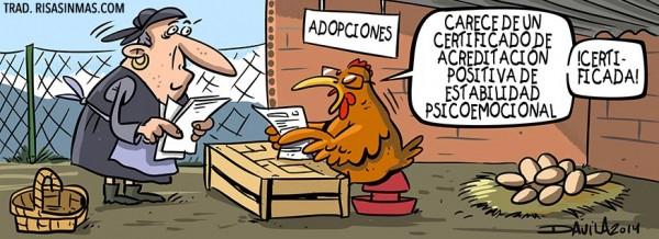 Burocracia en el gallinero