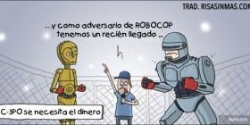 C-3PO se necesita el dinero