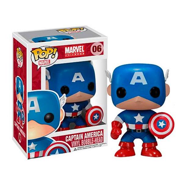 Cabezón Capitán América