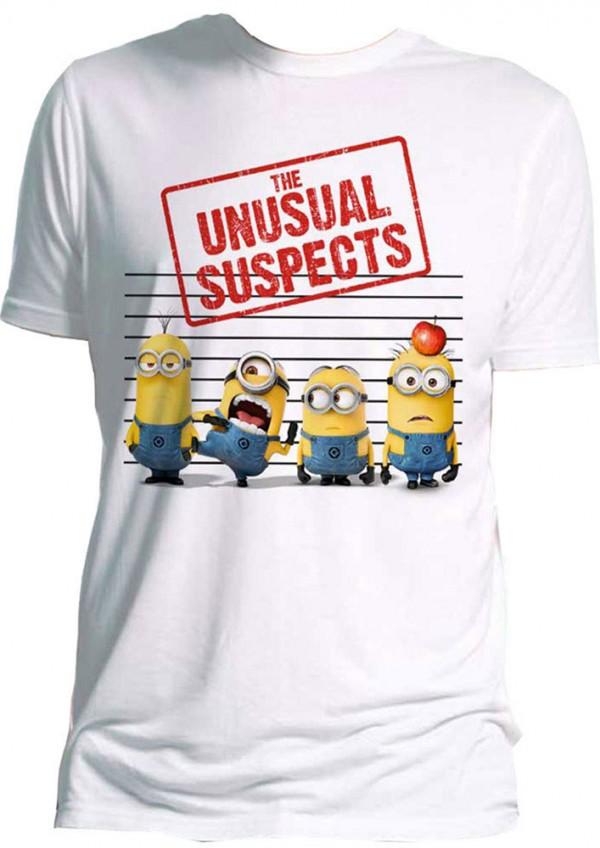 Camiseta Minions: El sospechoso inusual