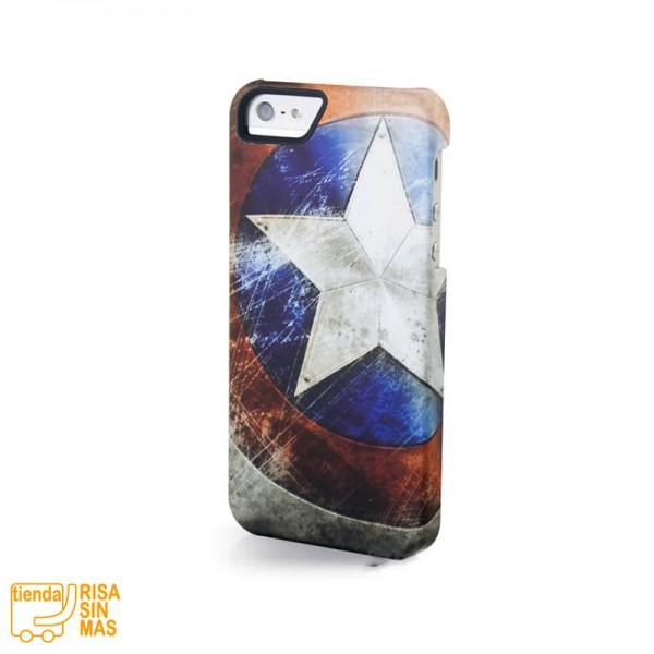 Carcasa móvil. Capitán América