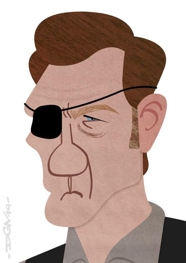 Caricatura El Gobernador