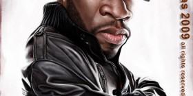 Caricatura de 50 Cent