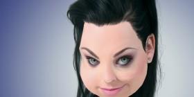 Caricatura de Amy Lee de Evanescence