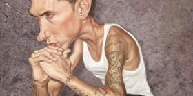 Caricatura de Eminem