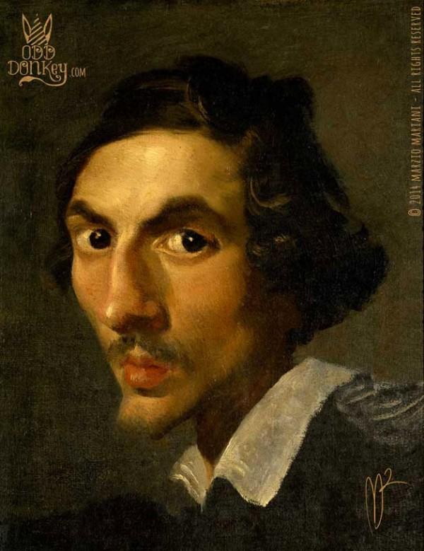 Caricatura de Gianlorenzo Bernini