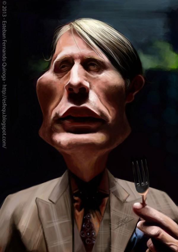 Caricatura de Hannibal
