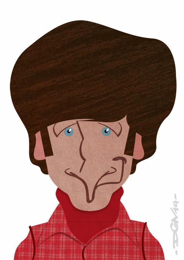 Caricatura de Howard Wolowitz
