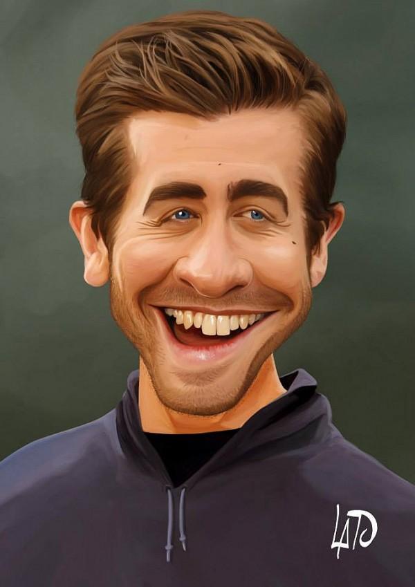 Caricatura de Jake Gyllenhaal