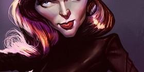 Caricatura de Lauren Bacall