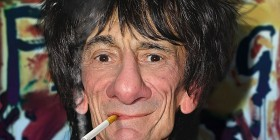 Caricatura de Ron Wood