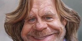 Caricatura de William H. Macy