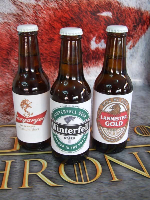 Cervezas Juego de Tronos