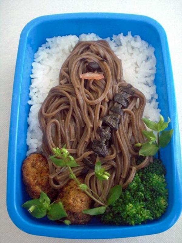 Comidas divertidas: Chewbacca