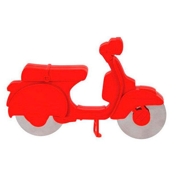 Corta pizzas scooter