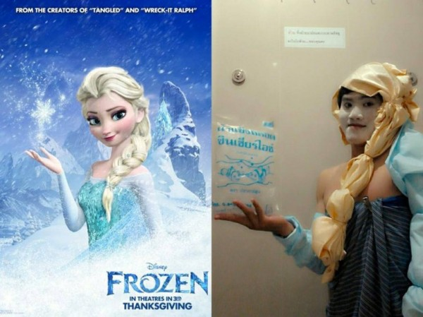 Cosplay low cost: Frozen