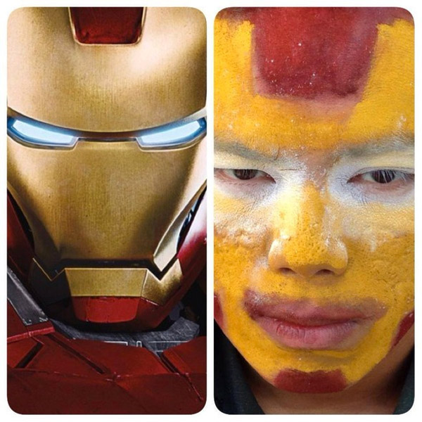 Cosplay low cost: Iron Man